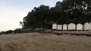 En hiver : Plage de l'Anse rouge à Noirmoutier