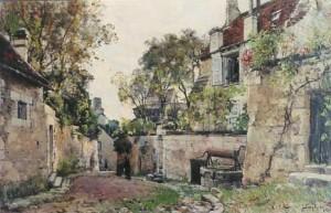Tableau «Maison de mon oncle Pescherard», 1882