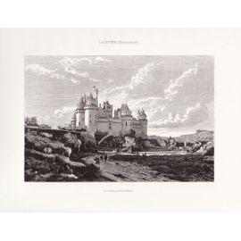 Le Château de Pierrefonds d'Emmanuel Lansyer